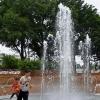 とかち水いろ(5)「中央公園の噴水(帯広市)」