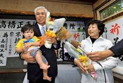 高橋氏が無投票6選 「若者が来るまちに」 本別町長選