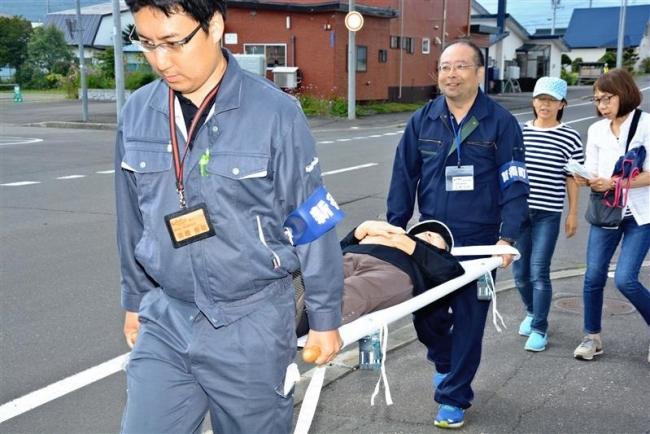 大地震想定し防災訓練 避難誘導など再確認 新得