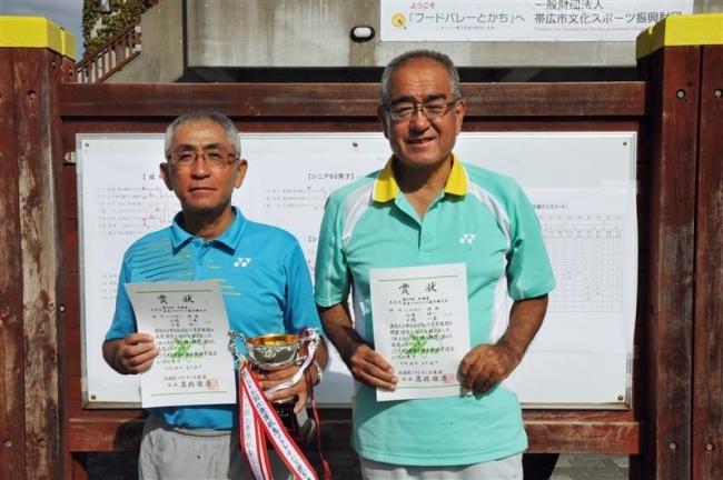 小島・小関組2連覇、北海道秋季ソフトテニス選手権