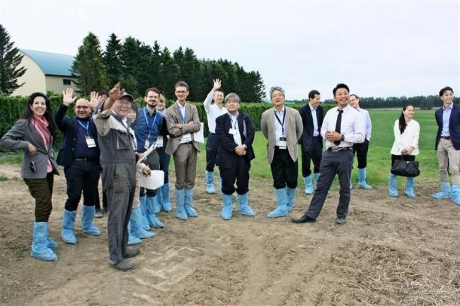 最先端の農業技術学ぶ 日欧ビジネスウィーク