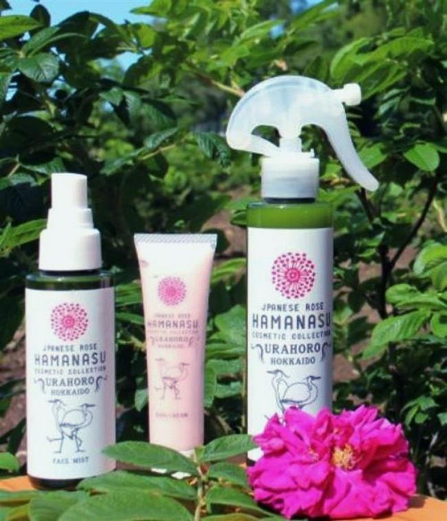 ハマナス化粧水が審査員賞 全国コンでうらほろスタイル協試作品