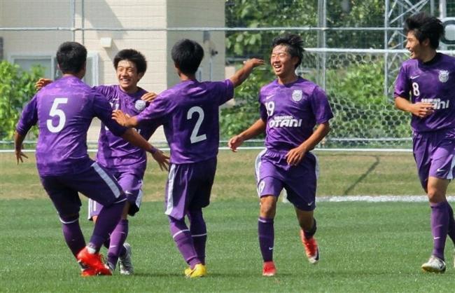 帯大谷守り切りV 古田決勝G、サッカー高校選手権