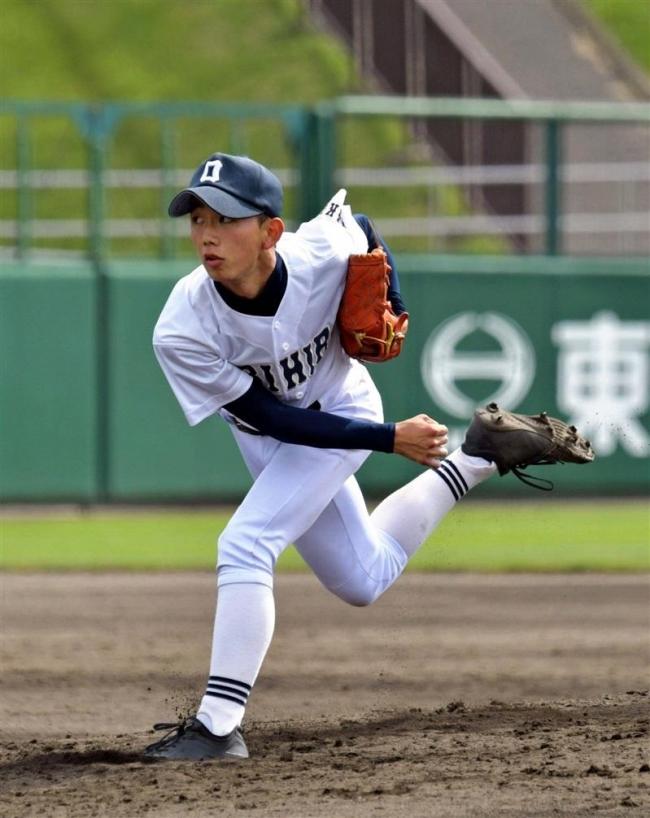 帯柏葉エース好投、白樺学園も4強入り秋季道高校野球