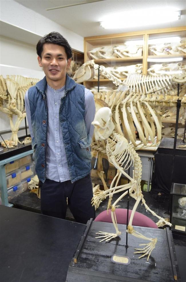 霊長類の保護学ぶ 帯畜大黒澤さん ベリーズに留学へ