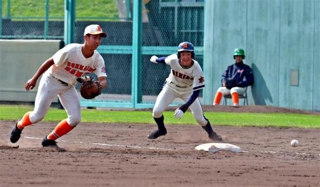 帯農8年ぶり勝利ならず 秋季道高校野球2回戦