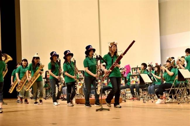 芽室高校吹奏楽部、初の市民文化ホール単独公演