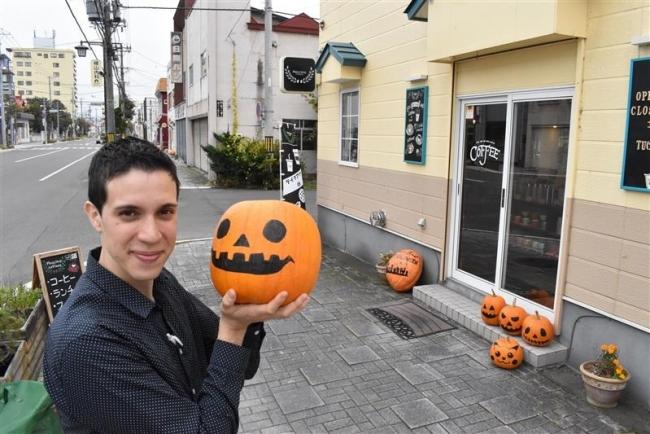 電信通りでハロウィーンイベント 今年は仮装パレードも
