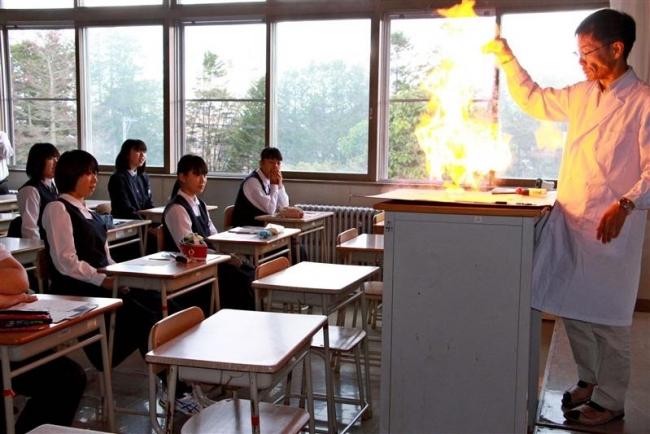高校の授業を体験 大樹・オープンスクール