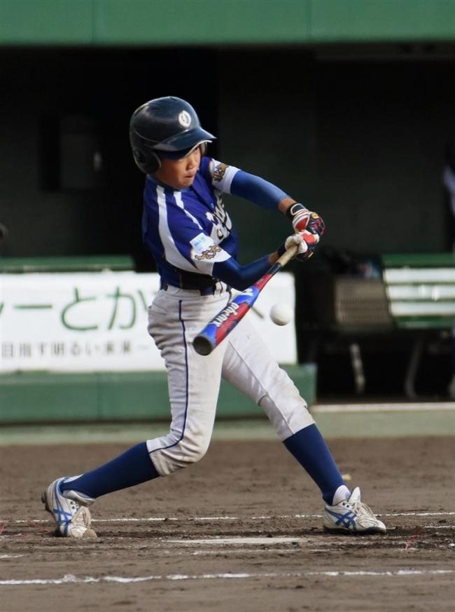 大空初優勝、豊成に9-2 三井杯少年野球大会