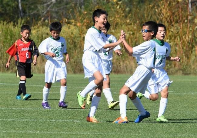 帯広FC優勝 全農杯8人制U12サッカー予選