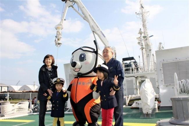新巡視船「とかち」を一般公開 広尾