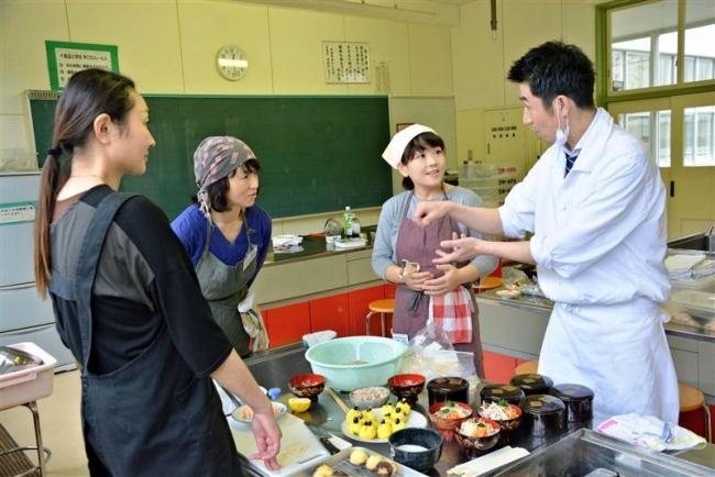 おせち料理学ぶ 鹿追小PTA研修部が料理教室