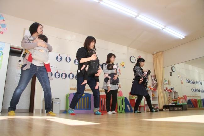 親子で運動 ストレス解消 帯広でベビーダンス教室