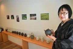 12日から料理と茶房の「久八」で急須展示会
