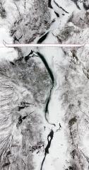 旬景~SORA PHOTO「雪に閉ざされる岩内仙峡」