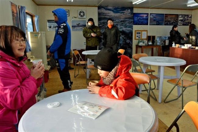 氷塊観光向け直売と休憩の「ジュエリーハウス」大津に開設