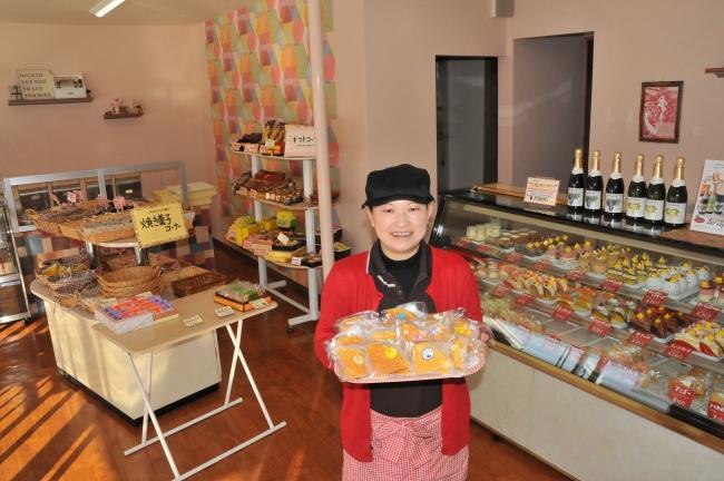 ワッフルの「こばやし」50年 芽室の人気菓子店 「アットホームなお店に」 先月改装