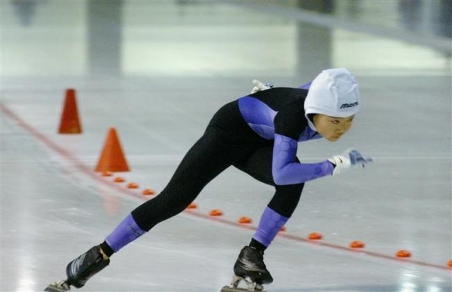 笹渕4年女子大会新V、全十勝ミニスプリントスケート