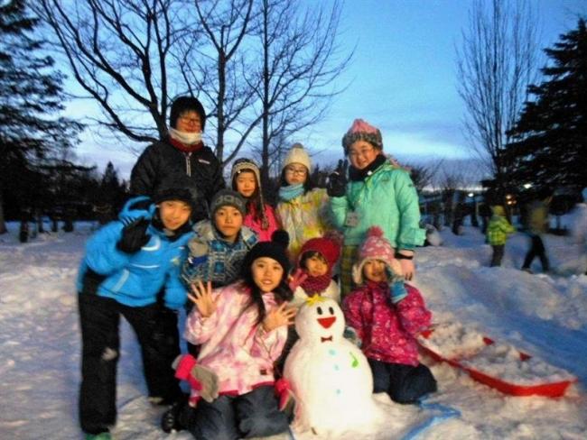児童が冬キャンプ楽しむ 足寄