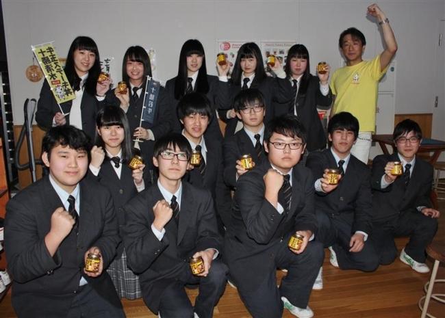 グルメ開発へ思い新た 牛玉丼の開発経緯聞く 清水高校