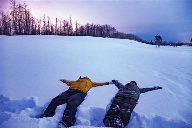 農村の静寂 観光資源化 雪原体験ツアー開発 帯広のエムデザイン