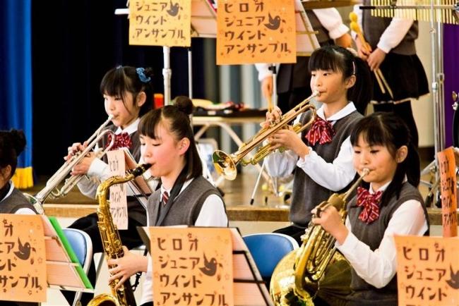 小学生ブラスバンドが定期演奏会 広尾