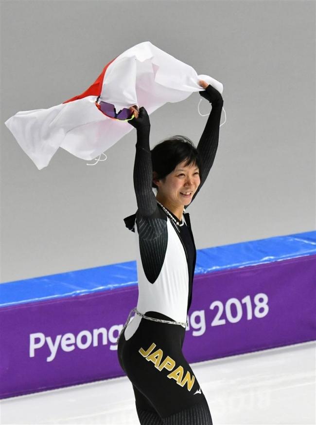 求道者高木美帆、日本女子史上最高の五輪銀に晴れやか