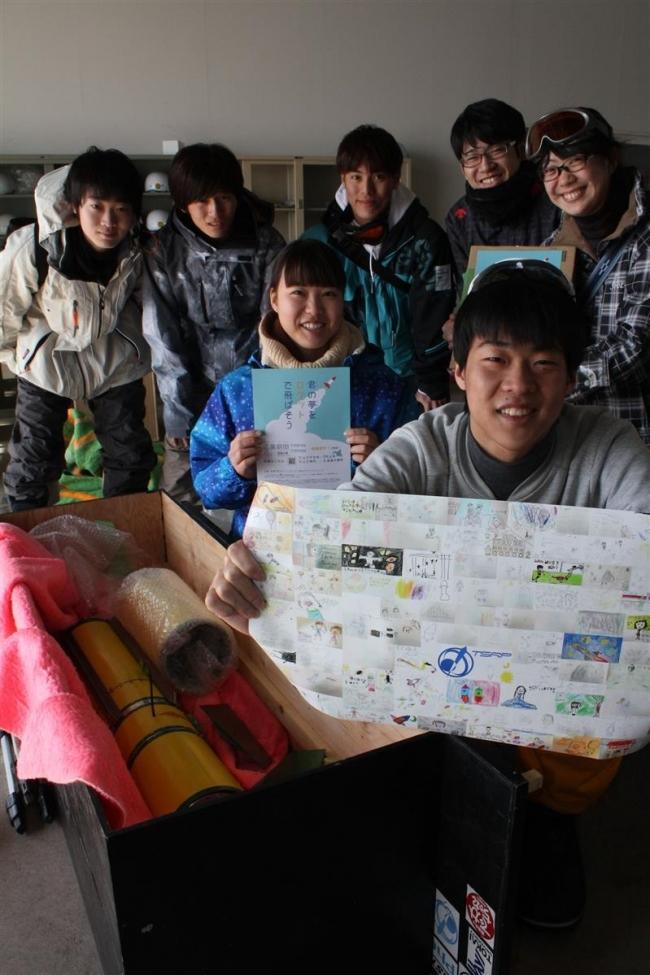 小学生イラスト載せ東海大ロケット空へ 4日打ち上げ 大樹