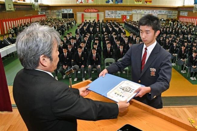 管内3000人が巣立つ 48中学校で卒業式