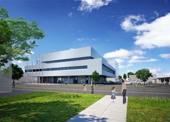 耐震性備えたコンパクト設計に 芽室・新庁舎
