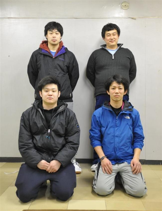 Team MizutaniがA優勝 卓球マンズカップ