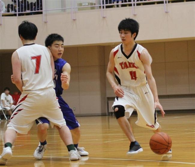 大平原カップ高校バスケ男子15、女子12チーム参戦