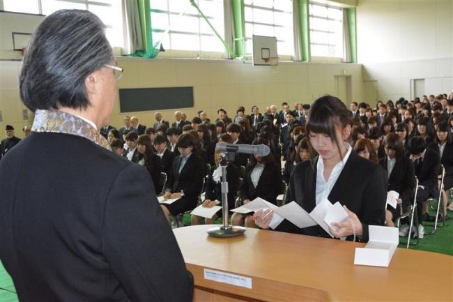 156人が学生生活スタート 帯広大谷短大で入学式