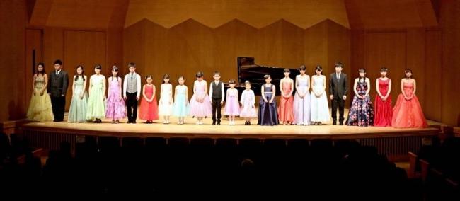 実力あふれる子ども達が演奏を披露 ブリランテコンサート