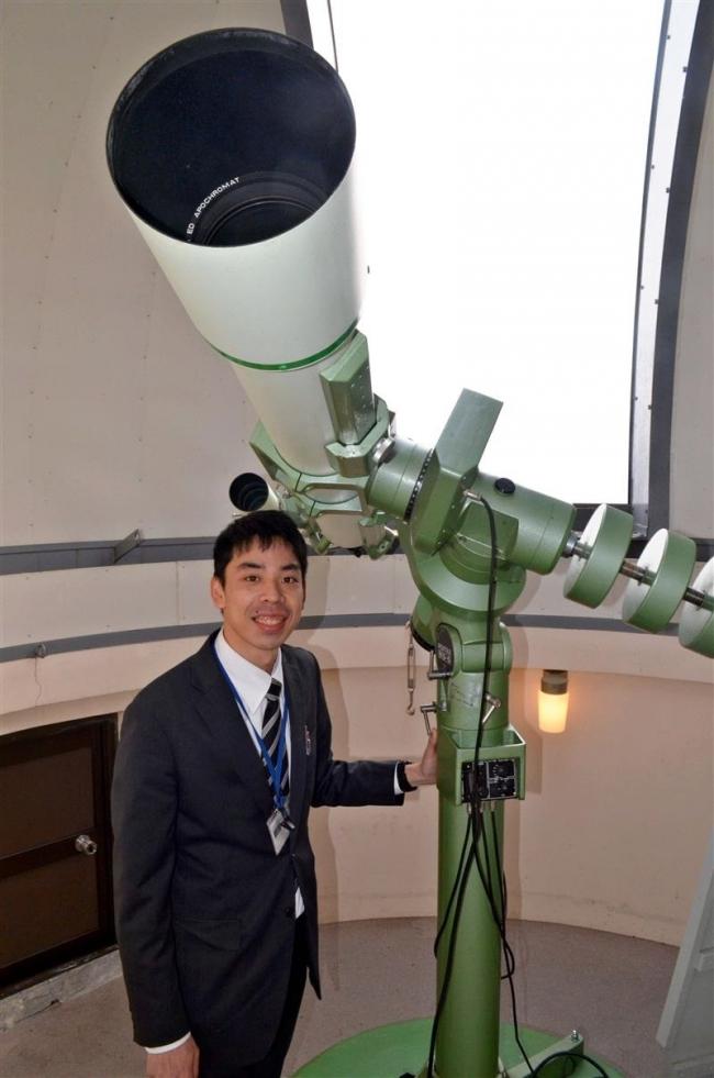 ヌプカの里の望遠鏡が復活 士幌 14日に星の観察会