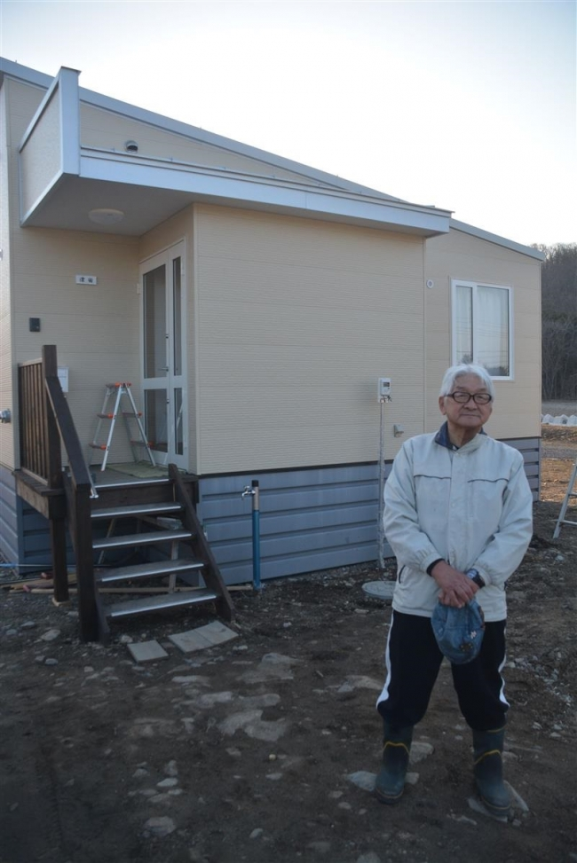 台風で被災した新得の津田さん、元の場所で自宅再建