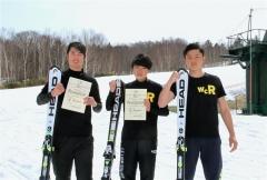 比留間5位福原10位米澤18位、全日本Jr.スキー技選