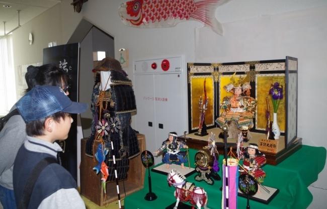 五月人形や鎧兜 浦幌町立博物館
