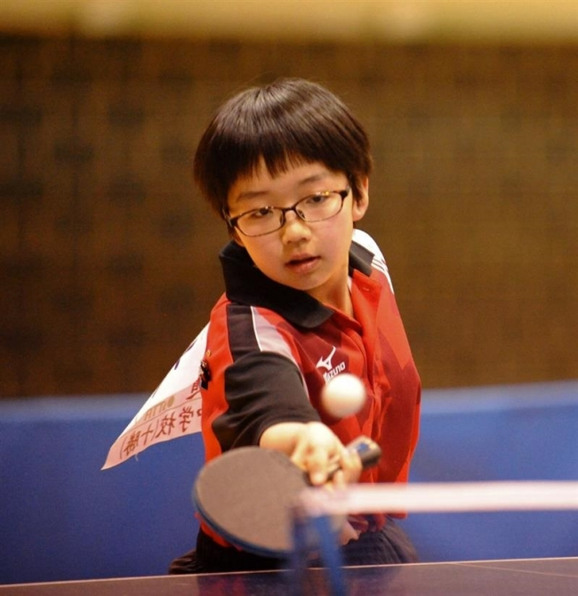 女子小林V 男子は松井と大野優勝、全十勝春季中学卓球