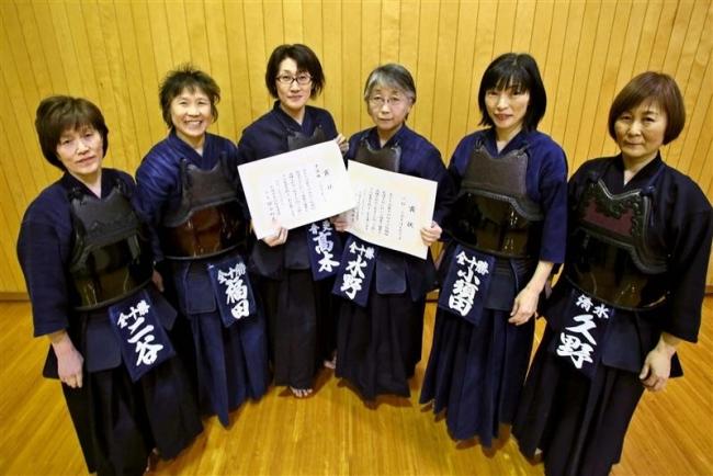 十勝勢2、3位活躍 女子シニア剣道大江杯親睦大会