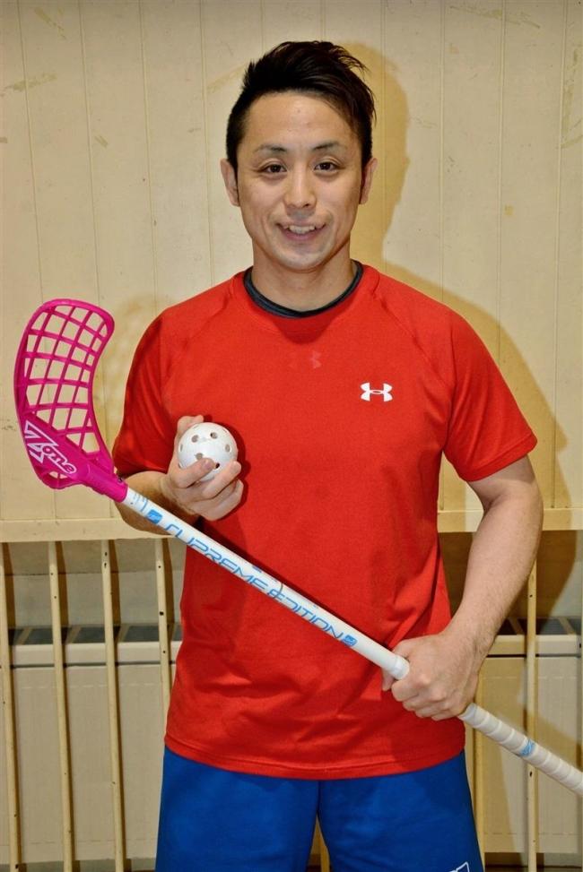新得の香田さん、フロアボール世界選手権へ 道内初の日本代表