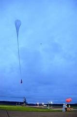 JAXA大気球実験2年2カ月ぶり放球に成功 大樹  2