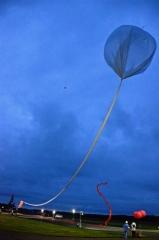 JAXA大気球実験2年2カ月ぶり放球に成功 大樹  4