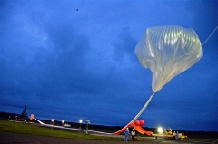 JAXA大気球実験2年2カ月ぶり放球に成功 大樹  5