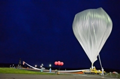 JAXA大気球実験2年2カ月ぶり放球に成功 大樹  6