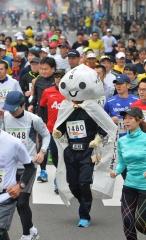 フードバレー力走4500人  とかちマラソン2014 写真8