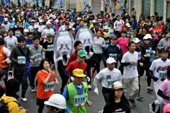 フードバレー力走4500人  とかちマラソン2014 写真15