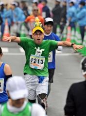 フードバレー力走4500人  とかちマラソン2014 写真16