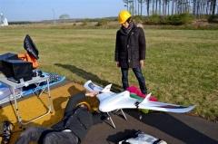 新カメラの撮影範囲の広さ確認 電通大飛行ロボット実験  3